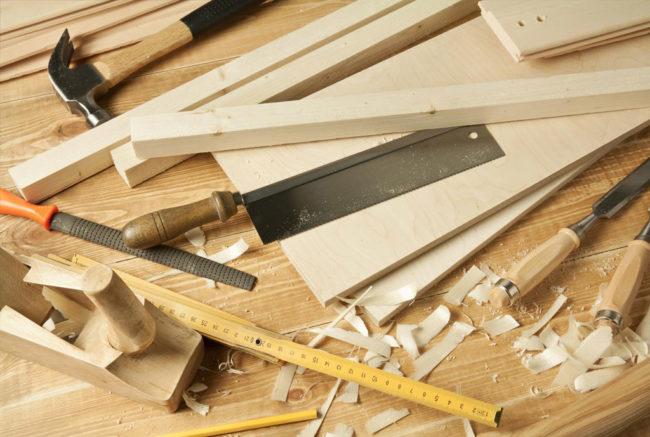 Types de bois pour le travail du menuiserie du bois