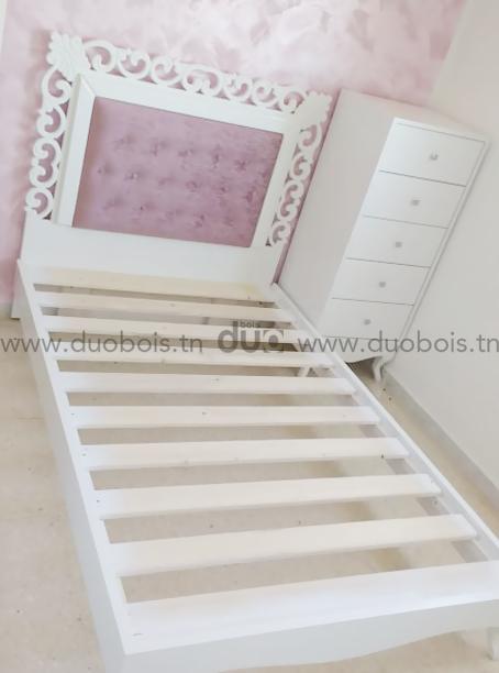 Chambre à coucher blanc