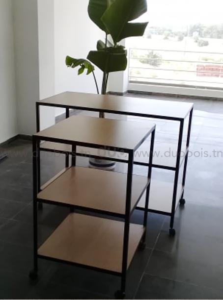 Table étagère